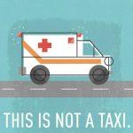 救急車をタクシー代わりに使ってはいけません。【患者の家族に病院関係者がいたけれど・・・・】