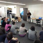 難病連の松田さんがコミュニケーションツールの院内勉強会に参加してくれました。