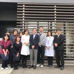 本日は当院に横浜のあおと在宅医療クリニックの畑中先生が見学に来られました。