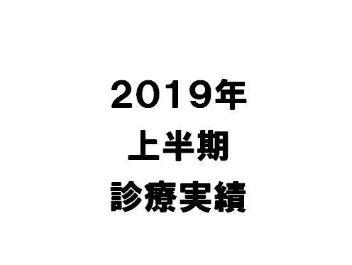 【2019年上半期】当院の活動を数字で振り返る