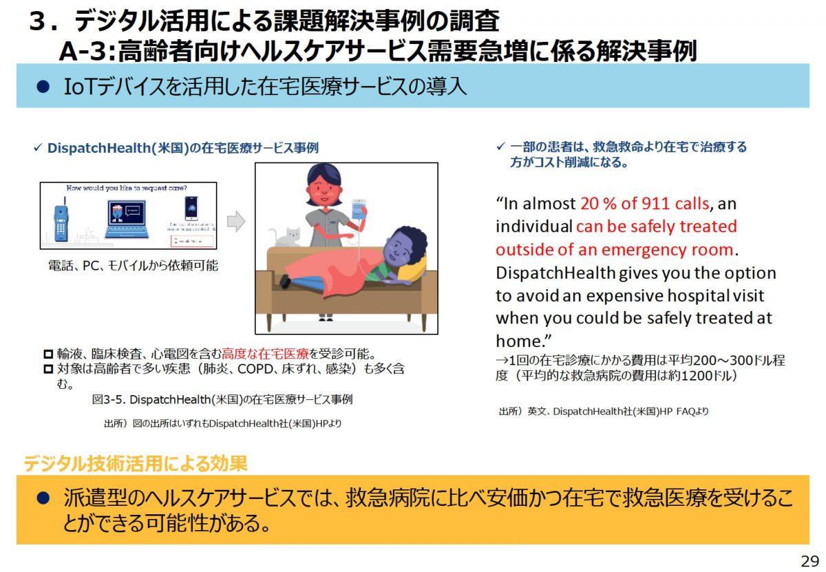 ヘルスケアサービスのDxを議論する前にすべきこと~第四次産業革命時代におけるヘルスケアサービス提供分野のデジタルトランスフォーメーションに関する調査研究から