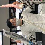 今日は大阪から中逵先生が2回目のワクチン接種のために来院されました!