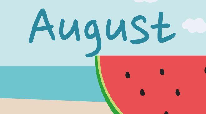 8月スタート・・・