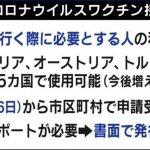 世界に広がるワクチン接種義務・条件化の動きと日本のワクチン証明活用の遅れ