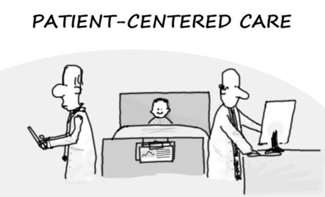 それって患者さん中心のケアの視点はありますか?