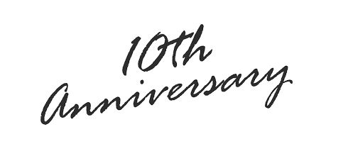今日で開院10周年!関わってくれた皆さんに心から感謝です。